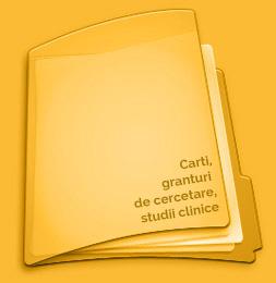 Carti, granturi cercetare, studii clinice